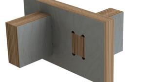CNC assembled joint