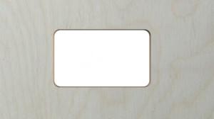 rectangle with internal radii